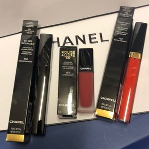 Chanel makeup 3 things
